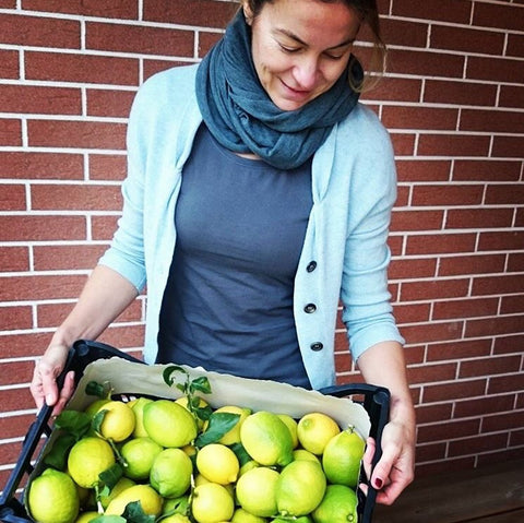 Italian lemons, healthy & fresh cooking