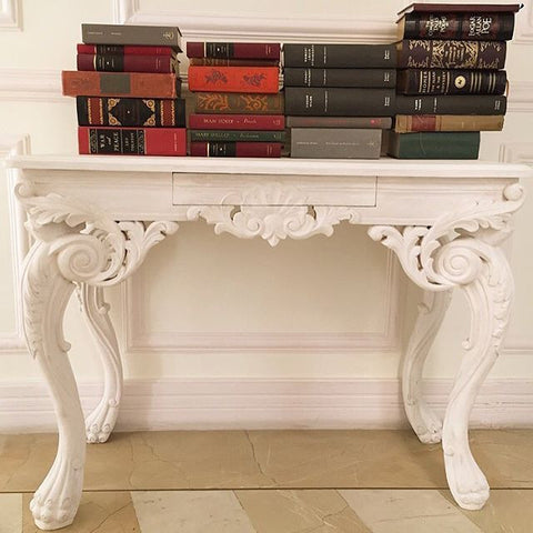 Console Table inspired by Italian Renaissance Era