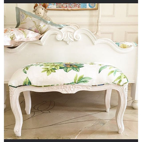 Window Bench or side bench inspired by Louis XV