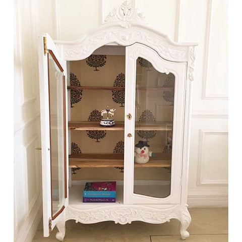 Armoire inspired by French rococo
