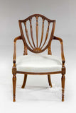 Classic Hepplewhite shield back chair for children