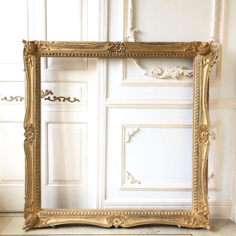 Louis XV frame in our signature distress