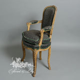 Classic Louis XV Pair of Chair for Children