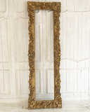 Intense detailed rococo frame with wreaths & cartouches