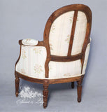Classic Louis XV Petit Fauteuil for Children