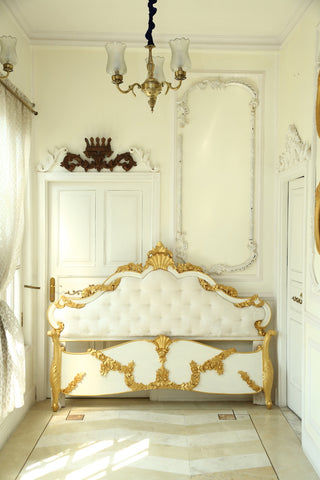 The Italian Baroque bed