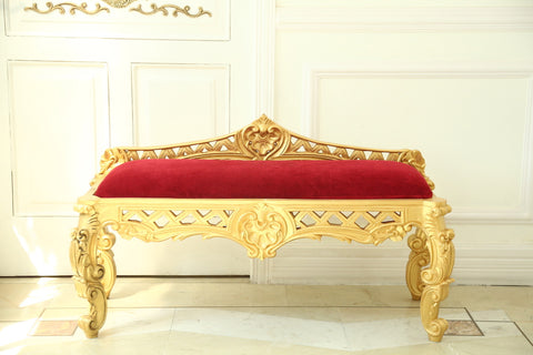 Window Bench inspired by Italian Baroque