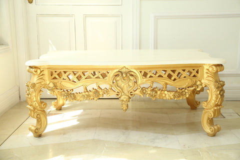 Center Table of Italian Baroque Features