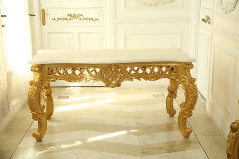 Table for dining inspired by Italian Baroque dining table