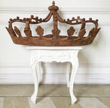 Stunning 'ciel de lit' Bed Crown