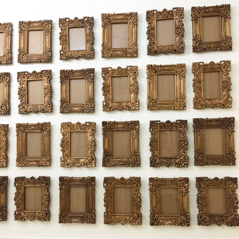 Frames of photo proportions of Louis XV era