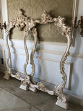 Frame inspired by Italian rococo baroque