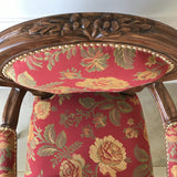 Chair iconised by Louis XV, Small Side Chair size
