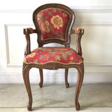Chair iconised by Louis XV, small side chair