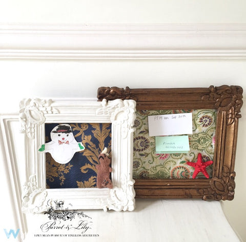 The Straight Louis XV Frame inspired Pin board