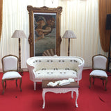 Bergere inspired by the Louis XVI Era