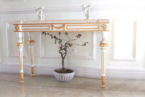 Console Table inspired by Classic Louis XVI