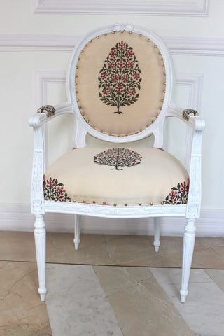 Chair iconised by Louis XVI, Armchair