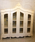 Armoire inspired by French rococo perfect for clothes storage