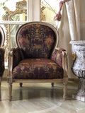 Louis XVI fauteuil / couch with needle point feet