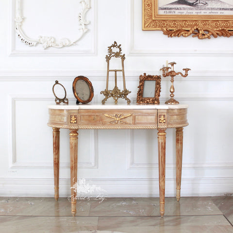 Console inspired by the Louis XVI Era