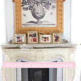 The Swirl Louis XV frame