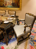 Dining chair of Louis XV quintessence
