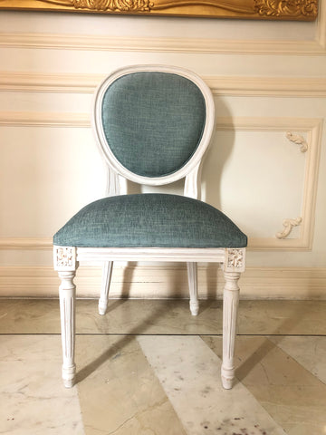 More pics of classic Louis XVI chair