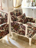 Bergere/couch/sofa with extraordinary grace and lofty proportions
