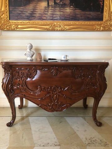 Louis XV style bureau / desk in rosewood