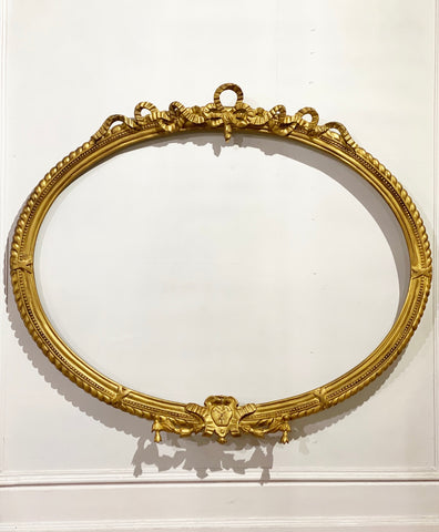 Frame of Louis XVI exuberance with the most delicate ribbon