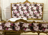 Carved Louis XV bed