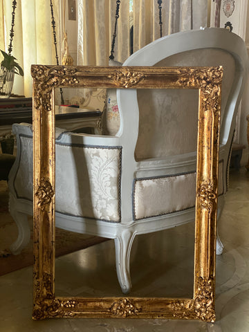 Frame of quintessential Louis XV details
