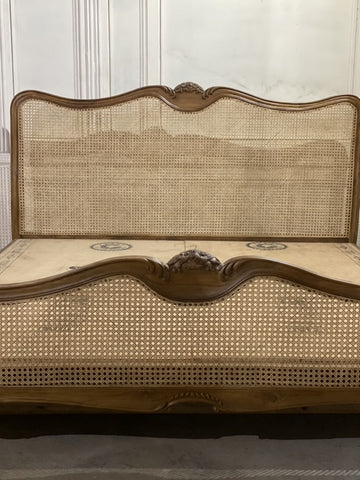 Louis XV  Wicker Bed