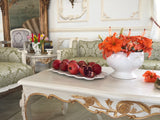 Center Table of Louis XV elegance with pomegranate  motif