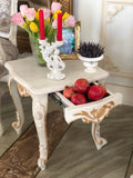 Side table of Louis XV elegance with pomegranate motif