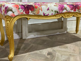 Long Louis XV bench