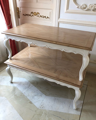 Center table of Louis XV dainty frame