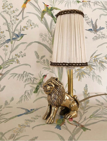 The Old Rome Lion miniature lamp