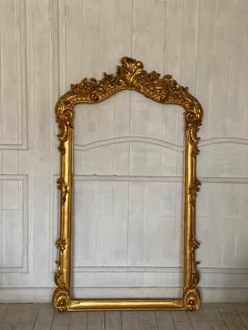 Surreal frame of Louis XV splendour