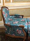 Duchesse Brisee/ couch with ottoman of Louis XV sensibility