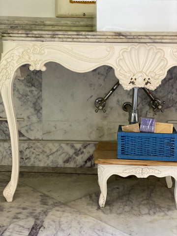 Sleek console of Louis XV elegance
