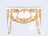 Commode of baroque brilliance inspired by Louis XV