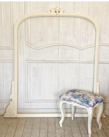 Bench inspired by Louis XV