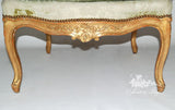 Chair inspired by Louis XV, Fauteuil lofty couch proportions set of two