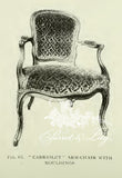 Chair iconised by Louis XV dining chairs