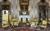 Her Majesty Queen Elisabeth II chose Louis XV chairs for her formal seating