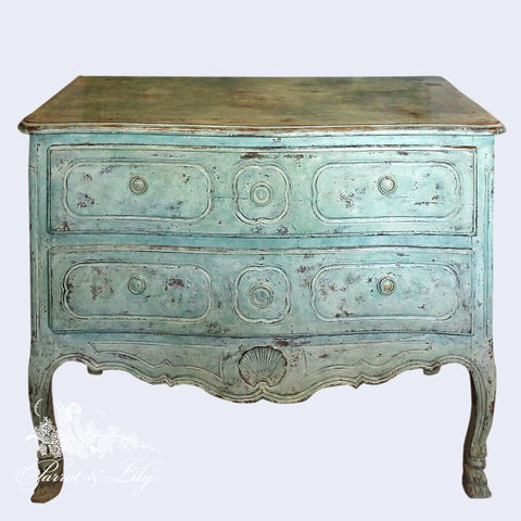 Commode in provencial style inspired by Louis XIII