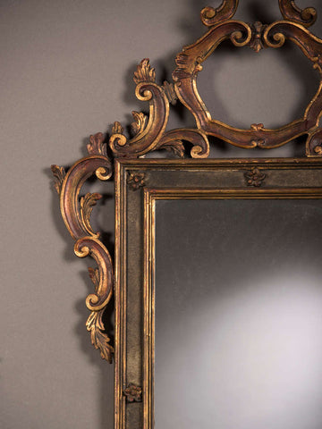 Frame with Flatted Rococo