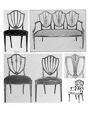 Chairs for the Dining inspired by Hepplewhite
